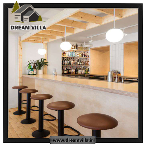 طراحی و دکوراسیون داخلی کافه بار ژاپنی در کانادا